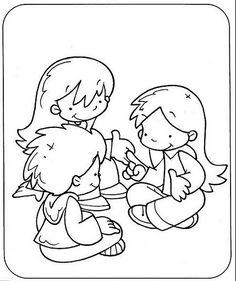 Dibujos de normas de convivencia para colorear - Imagui