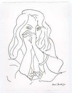 "#Henri #matisse ""portrait of a woman"" drawing - #registered , View more on the LINK: http://www.zeppy.io/product/gb/2/162366138677/"