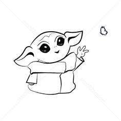 Baby Yoda SVG PNG JPG Instant download for cricut design ...