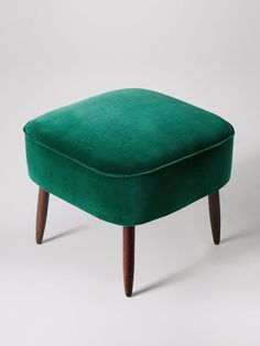 Celebrate artisan making at Swoon, hand-crafted designs without the inflated price tag. Home Decor Furniture, Sofa Furniture, Sofa Chair, Emerald Bedroom, Small Footstool, Dressing Stool, Cocktail Chair, Ottoman Stool, Scandi Style