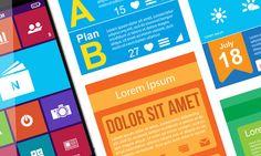 Evolution of Flat Design – Creative Emergence for Flat Aesthetics on http://naldzgraphics.net