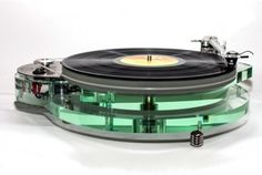 Roksan releases striking 'glass-effect' Radius 7 turntable