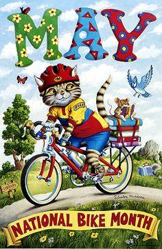 May: National Bike Month / Salvatore Murdocca (1999)