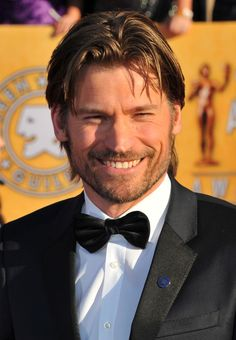 Also he has beautiful golden brown hair... | Nikolaj Coster-Waldau Is Actually Prince Charming In Real Life