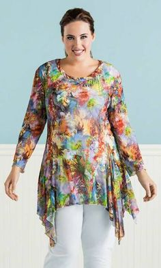 cute but couldn't we have done a natural fabric instead of nylon?? ick RAYNA TUNIC