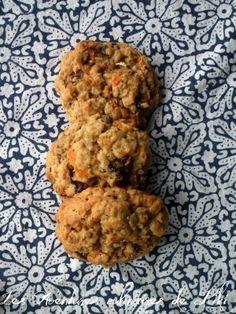 Biscuits à l'avoine, aux carottes, aux raisins et aux pacanes