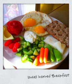My Israeli Inspired Breakfast Israeli Breakfast, Turkish Breakfast, Sunday Breakfast, Savory Breakfast, Easy Dinners For One, Dinner For One, Fries In The Oven, Aesthetic Food, Breakfast