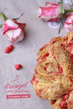 Kringel aux pralines1 KRINGLE AUX PRALINES {OCTOBRE ROSE}