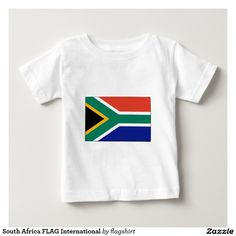 South Africa FLAG International T Shirts