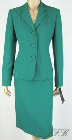 Gorgeous Jade Green skirt #suit.  New with tags.  Free priority shipping.  See at www.justfashionsboutique.com