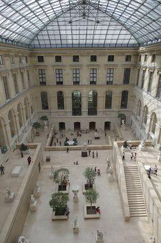 Musée du Louvre, Paris - Gah I miss it. Oh Paris, Paris Love, Paris City, Most Beautiful Cities, Beautiful Buildings, Paris Travel, France Travel, Jardin Des Tuileries, Louvre Paris