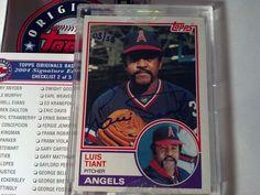 (2004) Topps Original Signature Edition LUIS TIANT 03/58