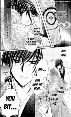 Ookami-heika no Hanayome  Psych! XD aw man I really want more of this manga