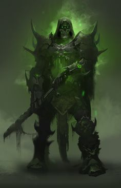 ArtStation - Undead Knight, Nikolay Karelin