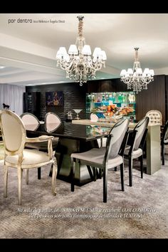 Mesa de jantar com cadeira medalhão