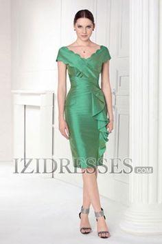Sheath/Column Scoop Taffeta Homecoming Dresses