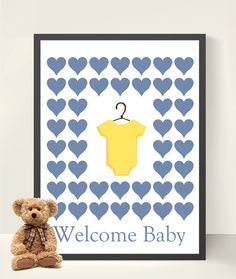 Baby Shower/ New Baby Boy Onsie Baby Clothes by LilyLeilaRose