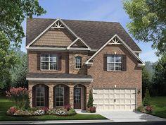 Ryland Homes Drake II D of the Ashbury Park community in Hoschton, GA.