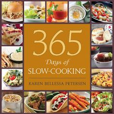 Amazing book of Slow Cooking - a new recipe for everyday of the year! I'm giving away a free copy of this book on my blog today to one lucky person. http://www.inspiredbycharm.com/2012/05/pinterest-party-extravaganza-beings.html