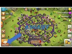 My clash of clans trophy base that i made myself Trophy Base, Game Calls, Clash Of Clans, Nerd, Games, Youtube, Fun, Amazon, Ideas