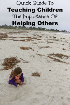 Quick Guide To Teach Kids The Importance Of Helping Others! AD