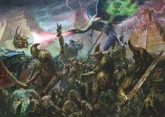 Warhammer, Chaos vs Lizardmen