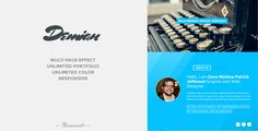 Artist WordPress Theme by themesmile Demian ¨C Personal WordPress Theme Demian is responsive WordPress theme with minimalist, clean, elegant and modern design. has a co