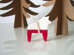 Dala horse ornament from Quite Alright | Remodelista