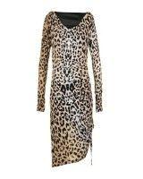 Alice By Temperley Womens Renaissance Sand Leopard Dress