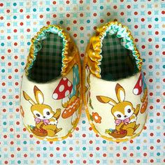 ♥ these baby booties !