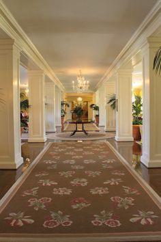 The Carolina Inn Main Lobby via The Gracious Posse