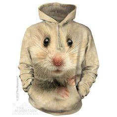 Hamster Face Hoodie