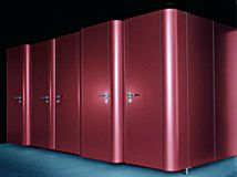 Softcell Redstar Steel Toilet Cubicle Cubicle Design, Toilet Cubicle, Soft Cell, Changing Room, Washroom, Armoire, Lockers, Architecture Design, Locker Storage