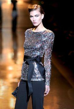 Badgley Mischka - elegant evening outfit