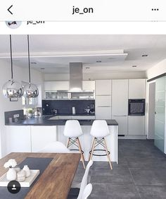 Aufteilung der Küche Distribution of the kitchen - room Kitchen Room Design, Modern Kitchen Design, Home Decor Kitchen, Kitchen Living, Kitchen Interior, Home Kitchens, Basement Kitchen, Farmhouse Kitchens, Apartment Kitchen