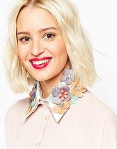 ASOS Embellished Collar