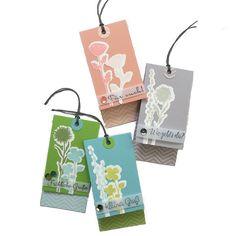 DIY - kleine Geschenkanhänger basteln