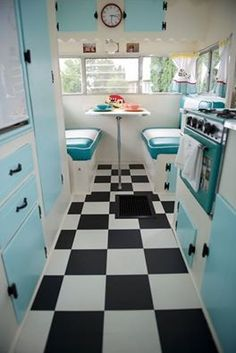 50s Diner Kitchen On Pinterest Diner Kitchen Diner Decor And 50s