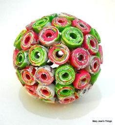 Rolled Paper Ball