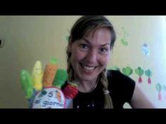 Handplay #song for preschoolers about fruit and veggies! AngeliqueFelix@YouTube