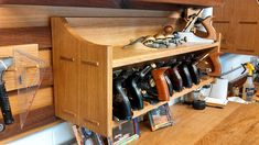 French Cleat System for my shop. - by BigRedKnothead @ LumberJocks.com ~ woodworking community