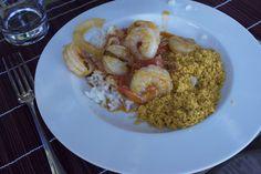 "8 years old ""Chef Juju"" cooks Brazilian Moqueca. Delicious!"