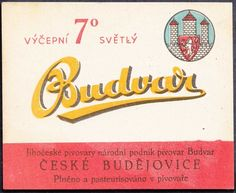 ORIGINAL OLD BEER LABEL CZECH BUDVAR BUDWEISER 7 8X10CM