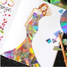 Color Me Creative, serie de ilustraciones realizadas por Kristina Webb.