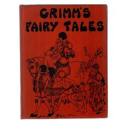 Booth & Williams This book was published in New York: Platt and Munk Publishers, 184 Pages, numerous illustrations includes 25 stories collected by the Brothers Grimm. Brothers Grimm, Grimm Fairy Tales, Decorative Objects, Books, Illustrations, Art, Products, Art Background, Libros