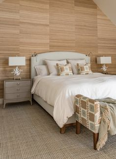serene coastal bedroom | Martha's Vineyard Interior Design