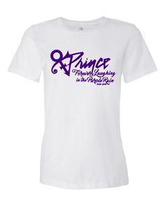 Forever Laughing in the Purple Rain Prince Women's Lightweight Ringspun T-Shirt by SOSAoriginals on Etsy https://www.etsy.com/listing/277363716/forever-laughing-in-the-purple-rain