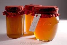 Levendulazselé ~ Receptműves Preserves, Food And Drink, Honey, Tasty, Homemade, Bottle, Lavender, Dios, Home Made