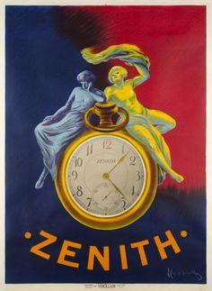 "1912 ""Zenith"", Swiss Watches vintage advert poster"