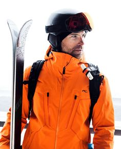 Much more than meets the eye: this hooded jacket comes with a host of concealed features designed to regulate your body temperature while protecting. Skiers, Long Cut, Ventilation System, Perfect Body, Layering, Motorcycle Jacket, Hooded Jacket, Rain Jacket, Windbreaker